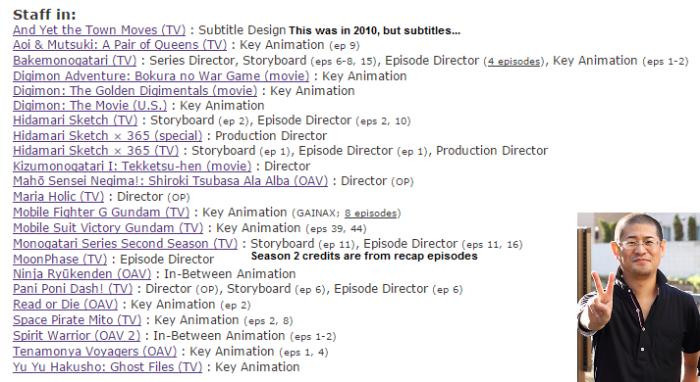 director credits